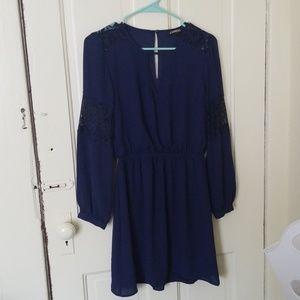 Navy Express Dress